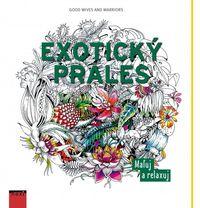 Exotický prales - maľovanky pre dospelých