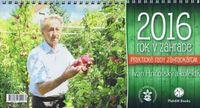 Rok v záhrade 2016- stolový kalendár